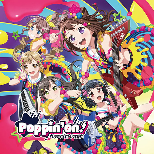 BanG Dream: CD - Poppin'On/Poppin'Party (Normal Edition)