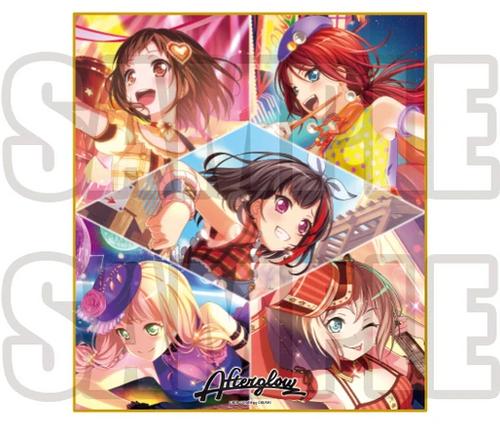BanG Dream: Shikishi Art Board - Girl's Band Party Afterglow