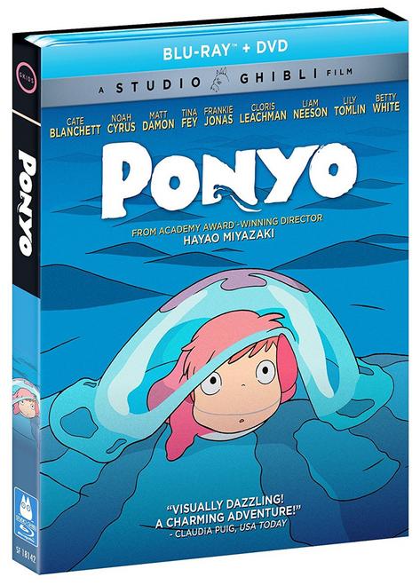 Ponyo Blu-Ray/DVD