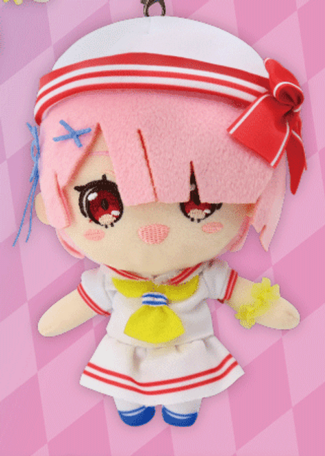 Re:Zero: Plush - Original Mascot Ram Sailor Style