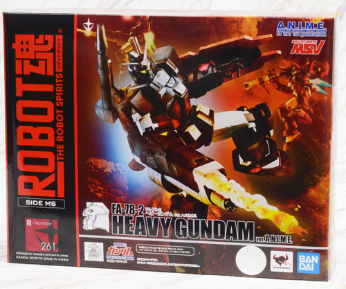 Gundam MSV: Robot Spirits - Heavy Gundam Ver. A.N.I.M.E.