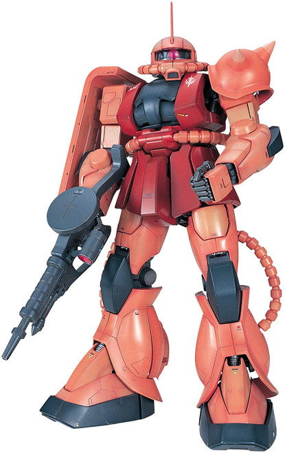 Mobile Suit Gundam: Perfect Grade 1/60 Scale Model Kit - MS-06S Char's Zaku IIs