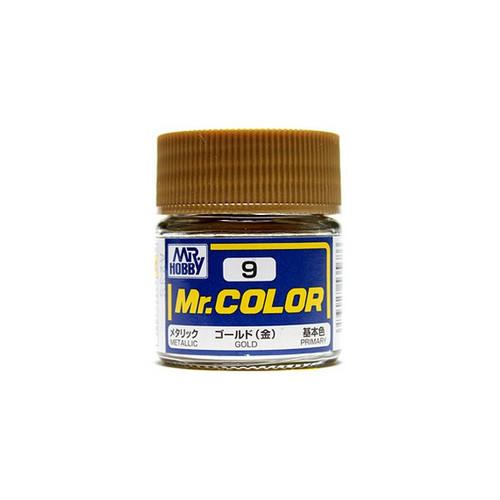 Mr. Color: Paint Jar - Mr. Metallic Color Gold