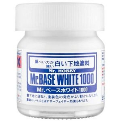 Mr. Hobby: Bottle - Mr. Base White 1000