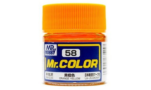 Mr. Color: Paint Jar - Orange Yellow