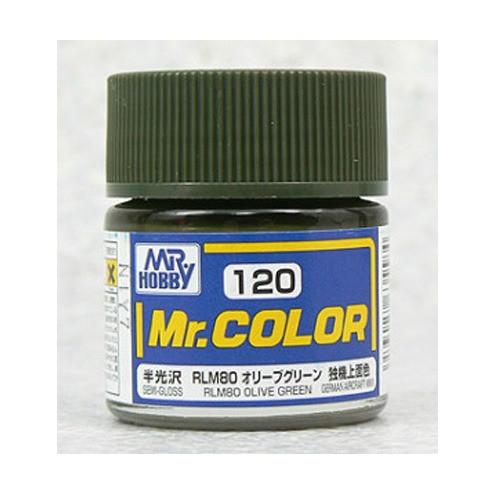 Mr. Color: Paint Jar - RLM80 Olive Green