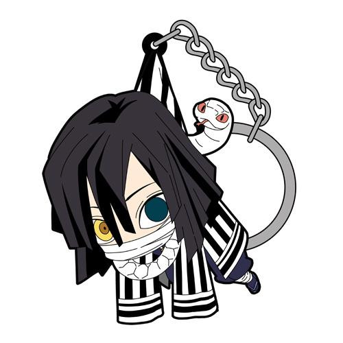 Demon Slayer: Key Chain - Tsumamare Obanai