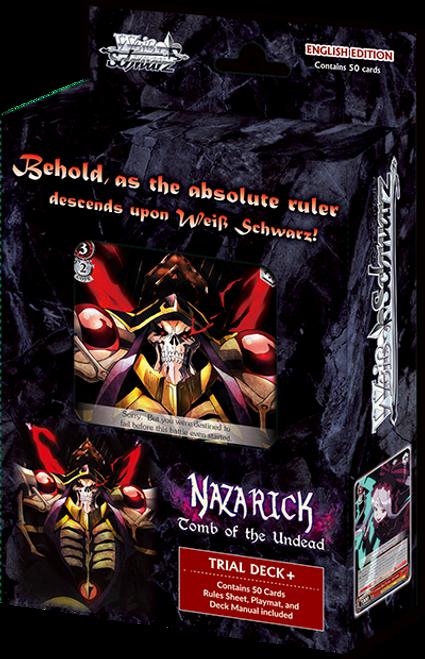 Weiss Schwarz: Trial Deck+ - Nazarick: Tomb of the Undead