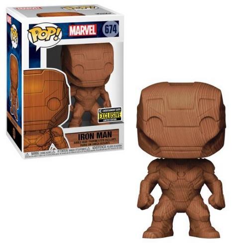 Iron Man: POP Figure - Iron Man (Wood)
