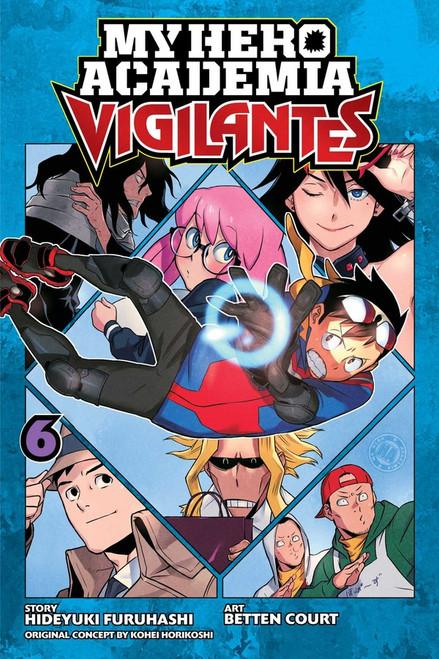 My Hero Academia Vigilantes Vol. 6 (Manga)