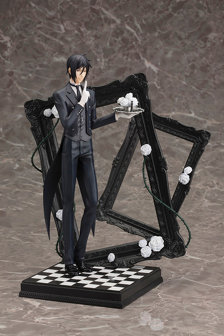 Black Butler: 1/8 Scale Figure - Sebastian Michaelis ArtFX-J (Book of Circus)