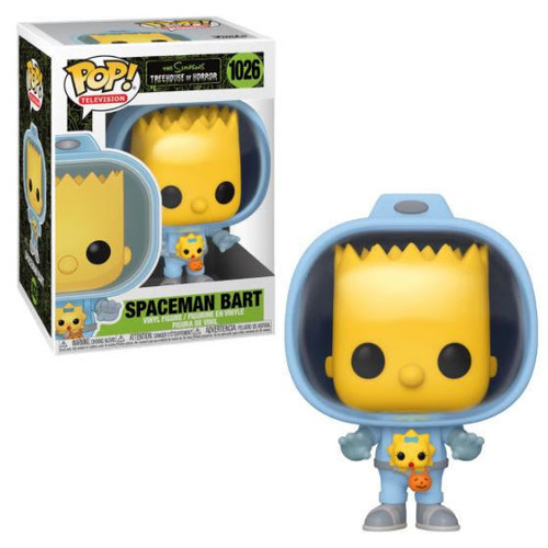 Simpsons: Pop Figure! - Bart w/ Chestburster Maggie (Treehouse of Horror)