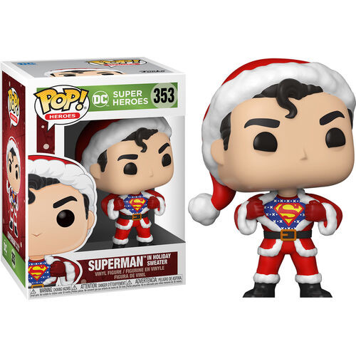 DC Comics Holiday: POP! Vinyl Figure - Superman w/ Holiday Sweater