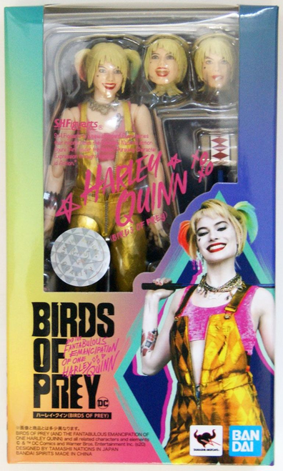 Birds of Prey and the Fantabulous Emancipation of Harley Quinn: S.H.Figuarts - Harley Quinn