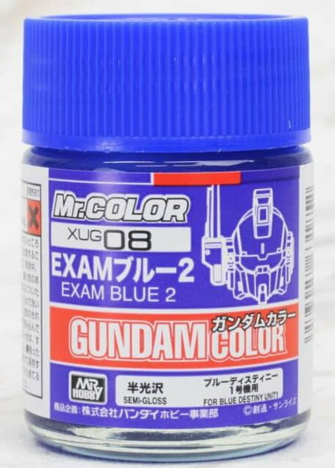 Mr. Color: Gundam Color - XUG08 Gundam Color EXAM Blue 2