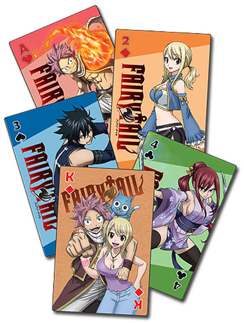 Fairy Tail: Playing Cards - S7