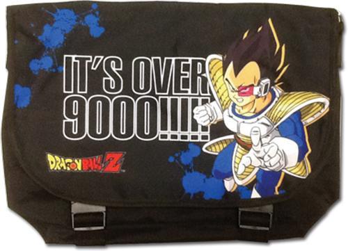 Dragon Ball Z: Messenger Bag - Vegeta It's Over 9000!!!
