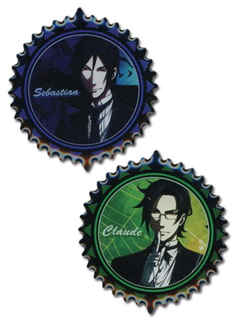 Black Butler 2: Pins - Sebastian & Claude (Set of 2)