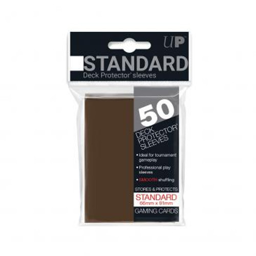 Ultra-Pro: Card Sleeves - Gloss Standard 50 - Brown
