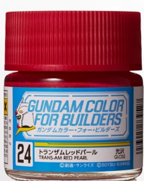 Mr. Color: Gundam Color for Builders - UG24 Trans-Am Red Pearl