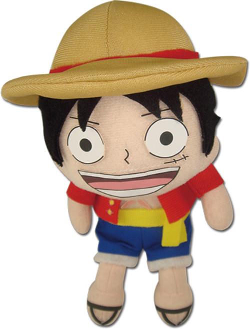 "One Piece: Plush - Luffy New World 5.5"" Pinched"