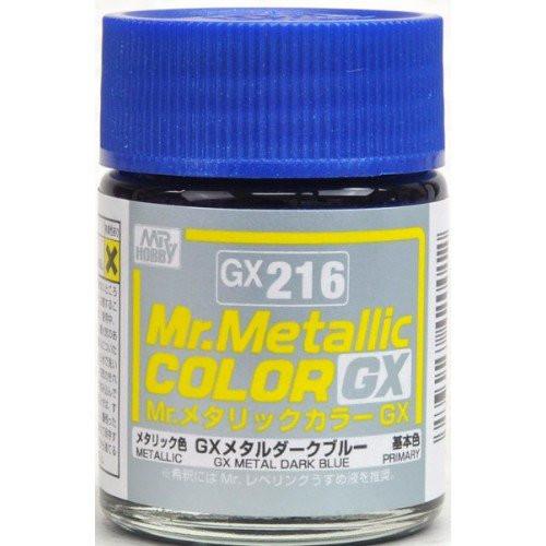 Mr. Hobby: Paint Jar - Mr. Metallic Color GX216 Metallic Blue