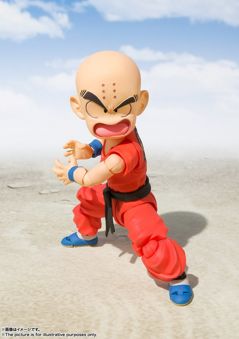 Dragon Ball: S.H.Figuarts - Klilyn (Krillin) Action Figure