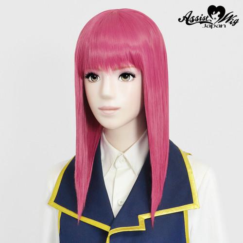 Assist: Pure Medium Wig - Pink 12 (Basic) (012067)