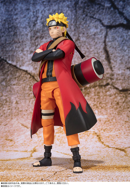 Naruto Shippuden: S.H. Figuarts - Naruto Uzumaki Sage Mode (B218170)