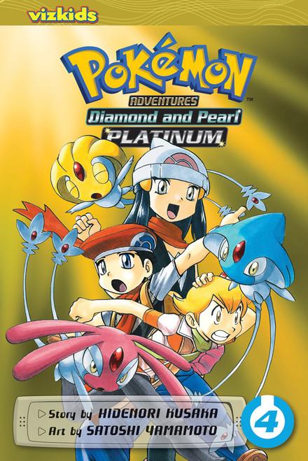 Pokemon Adventures: Platinum Vol. 04 (Manga)