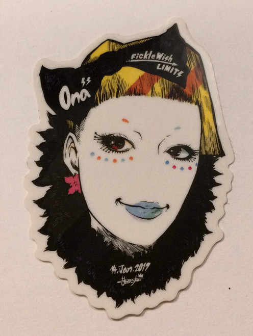 Facto: Small Strong Sticker - jbstyle (Ona) (3TSBB002)