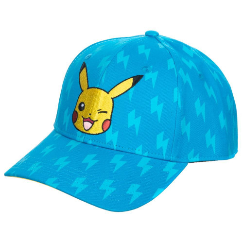 Pokemon: Cap - Pikachu Emblem All-Over-Print