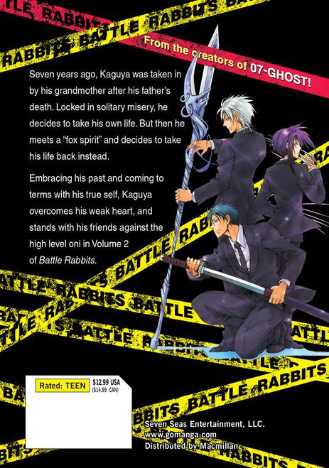 Battle Rabbits Vol. 2 (Manga)