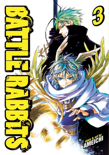 Battle Rabbits Vol. 03 (Manga)