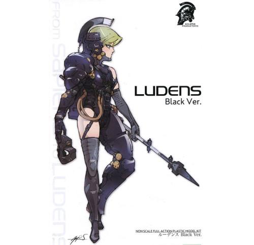 Kojima Productions: Non Scale Model Kit - Ludens (Black Ver.)