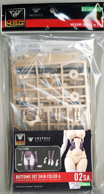 Megami Device: 1/1 Scale Plastic Model Kit - M.S.G Bottoms Set Skin Color A