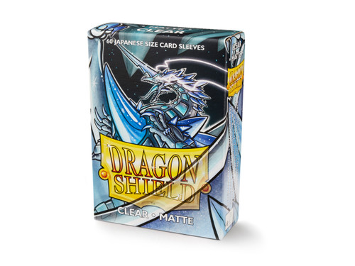 Dragon Shield: Card Sleeves - Small 60ct - Matte - Clear