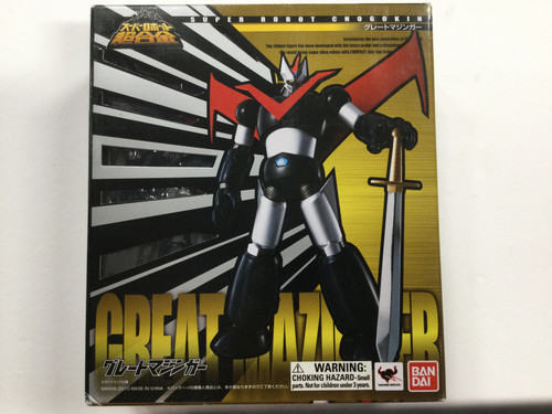 Mazinger Z: Super Robot Chogokin - Great Mazinger Action Figure (B277808)