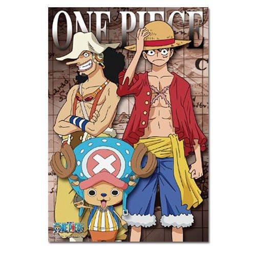 One Piece: Puzzle - New World Usopp Luffy Chopper (300pc)