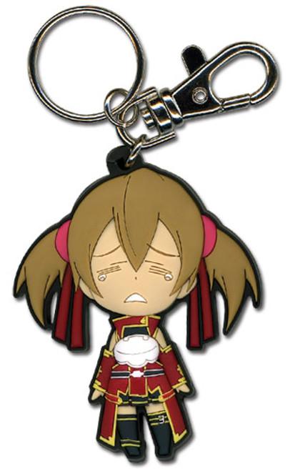 Sword Art Online: Key Chain - Chibi Silica Crying