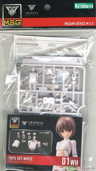 Megami Device: M.S.G. 01 - Tops Set White