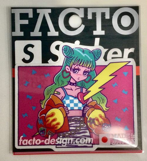 Facto: Strong Sticker - Yume (3WSBB029) (Small)