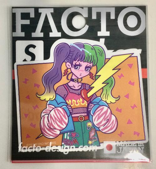 Facto: Strong Sticker - Yume (3WSBB031) (Small)
