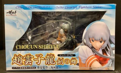 Ikki Tousen: 1/7 Scale Figure - Chouun Shiryuu Tsurugi no Mai (105013370)