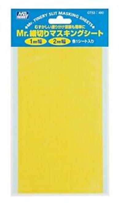 Mr. Hobby: GT53 Fine Slit Masking Sheet -1mm/2mm