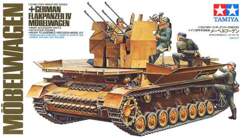 Tamiya: 1/35 Scale Model Kit - German Flakpanzer IV Mobel Wagen
