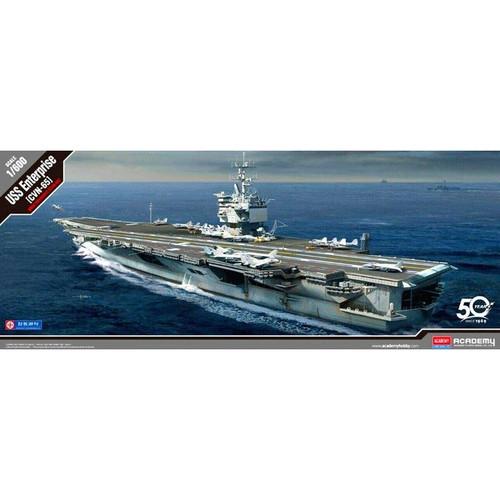 Academy Model: 1/600 Scale Model Kit - USS Enterprise (CVN-65)