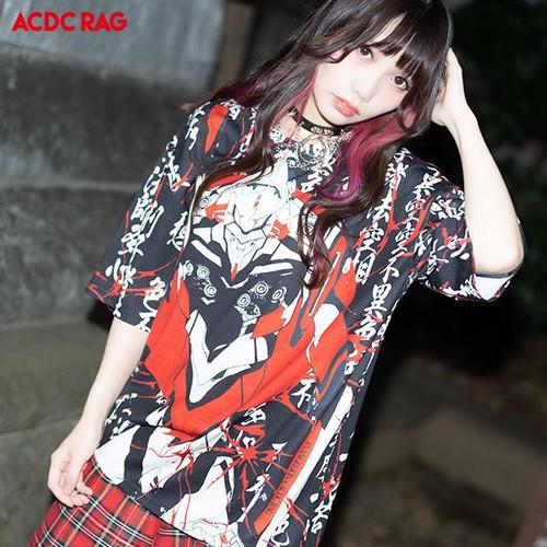 ACDC Rag: T-Shirt - Evangelion Hannya EVA
