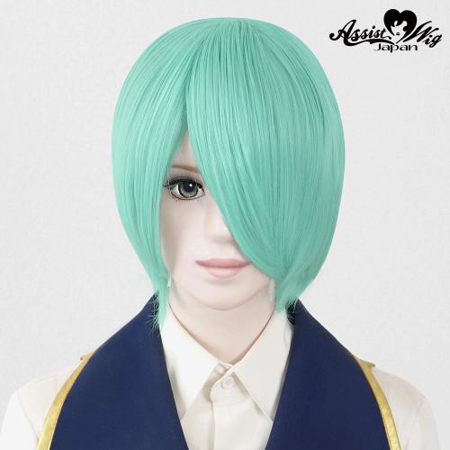 Assist: Regular Short Wig - Light Green 16 Basic + (19841)
