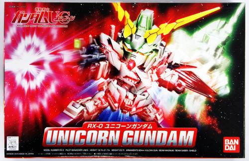 Gundam UC: SD BB Plastic Model - #360 RX-0 Unicorn Gundam